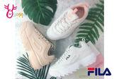 FILA DISRUPTOR 2 女復古運動鞋 老爹鞋 韓國 經典 厚底鋸齒鞋#C9970◆OSOME奧森童鞋