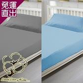 采棉居寢飾文化館 純棉床包枕套兩件組 2色任選【免運直出】