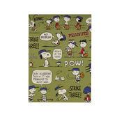 Sanrio  SNOOPY趣味設計系列繽紛貼紙本(棒球好朋友)★funbox★_628051N
