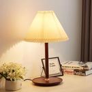 現代簡約原木臺燈臥室床頭吧臺酒店照明溫馨紅木個性創意臺燈燈飾(定金鏈接,下標前洽談)