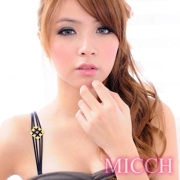 MICCH 維納斯綺麗古銅金性感彈性肩帶