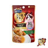 銀湯匙 貓湯餐包10歲-鮪+鰹+吻+柴40g*12包組 (C002H44-1)