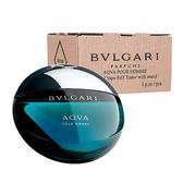 Bvlgari 寶格麗 AQVA 水能量 男性淡香水 100ml (TEST包裝-有瓶蓋及外盒)【七三七香水精品坊】