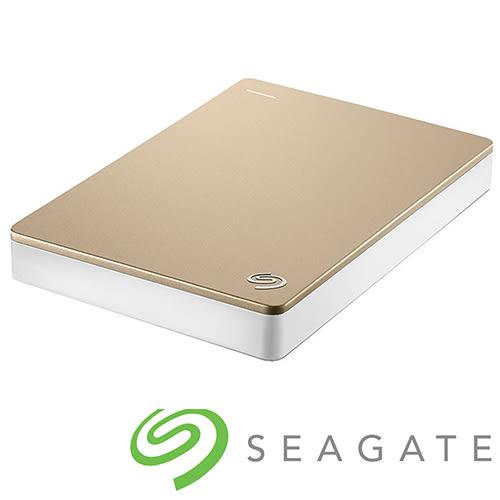 Seagate Backup Plus 4TB 2.5吋外接硬碟 - 金【愛買】