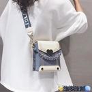 斜挎包 時尚寬肩帶單肩小包包夏季2021新款潮網紅斜挎包女百搭ins小方包 維多原創