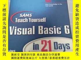 二手書博民逛書店【英文原版】SMS罕見Teach Yourself lnternet Pyogramming with visua
