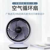 空氣循環扇 空氣循環扇遙頭定時臺式電風扇家用靜音立式渦輪對流風扇搖頭風扇