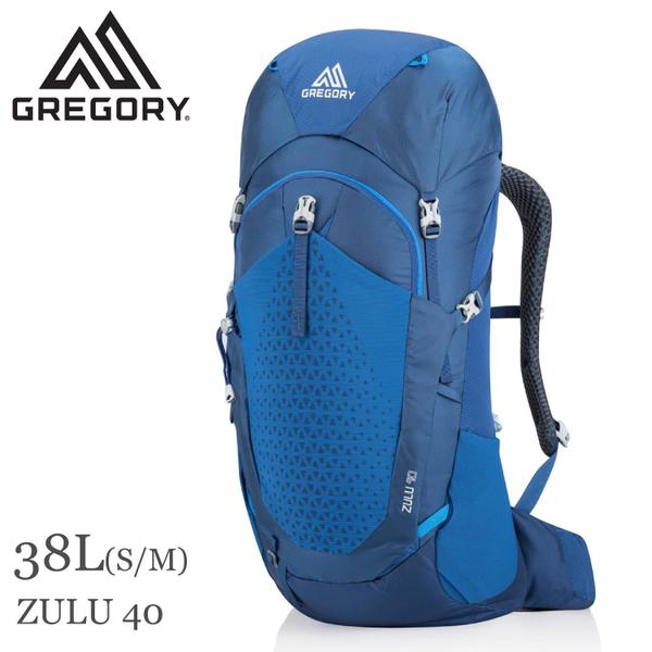 【GREGORY 美國 ZULU 40 S/M 登山背包《帝國藍》38L】111591/雙肩背包/後背包/自助旅行/健行/旅遊