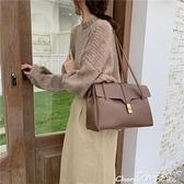 凱莉包 女士大容量時尚復古旅行凱莉包包女2021秋冬新款側背手提托特大包 小天使 618