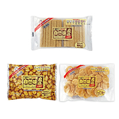 自然味良品(香草風味威化餅88G/石蓴風味巧酥103G/薄鹽米餅85G)