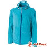Wildland 荒野 0A51992-47藍綠 男 彈性17D超輕抗UV外套 彈性延展/輕薄透氣/運動休閒外套/RE款
