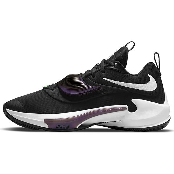 Nike ZOOM FREAK 3 EP Project 34 男鞋 籃球 字母哥 緩震 氣墊 鑰匙 鎖頭 黑 紫【運動世界】DA0695-001