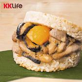 【KK Life-職人系列】粽香滷肉米膳堡1盒 (177g/顆;6顆盒)