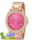 [美國直購] 女錶 XOXO Women s XO177 Analog Display Analog Quartz Rose Gold Watch