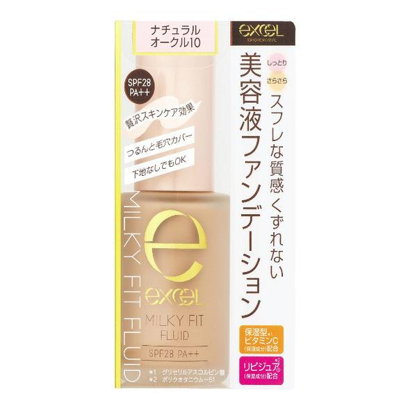 EXCEL 水潤精華粉底液01白晢膚色30g
