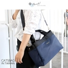 Catsbag|日系三層防潑水托特包 手提包 水餃包 081