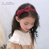 兒童髮箍頭飾正韓簡約蝴蝶結公主髮卡可愛潮妞女童小學生防滑頭箍