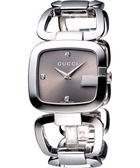 GUCCI G-GUCCI 時尚名媛真鑽腕錶 YA125401