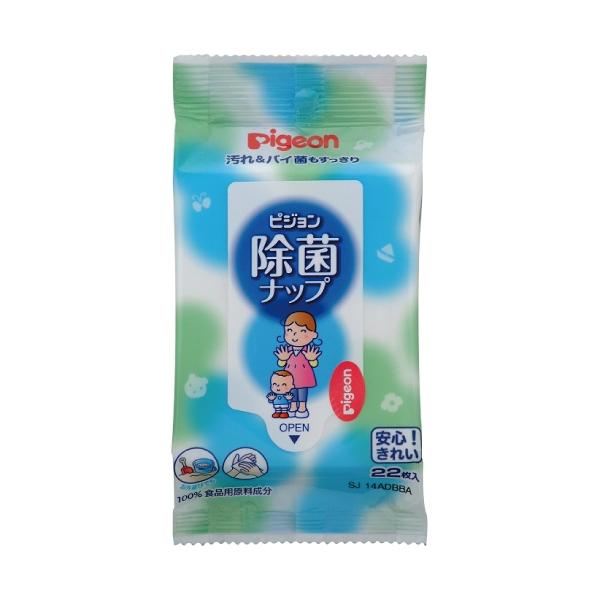 貝親 除菌濕巾| 濕紙巾 22抽