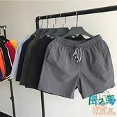 大碼短褲男 夏季褲子薄款男士跑步休閒中褲運動褲寬鬆大褲衩【風之海】