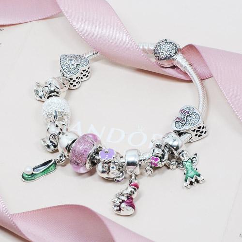 Pandora 潘朵拉 迪士尼系列 白雪公主 垂墜純銀墜飾