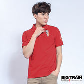 BIG TRAIN  豐成秀吉紀念POLO衫-男-紅色