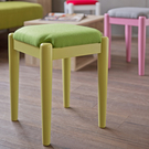 椅子 椅凳【收納屋】 和風菓子實木小椅凳-森林綠 &DIY組合傢俱