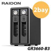 RAIDON GR3660-B3 USB3.0 2bay 3.5吋 磁碟陣列設備