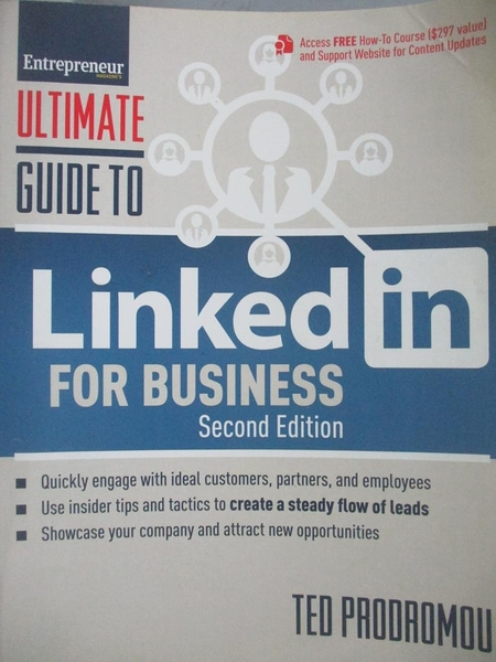 【書寶二手書T7/大學商學_XAL】Ultimate Guide to Linkedin for Business_Pr