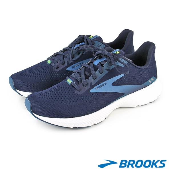 【BROOKS】男 推進加速象限 LAUNCH 8發射系列8代男跑鞋 1103581D490 U36-10358