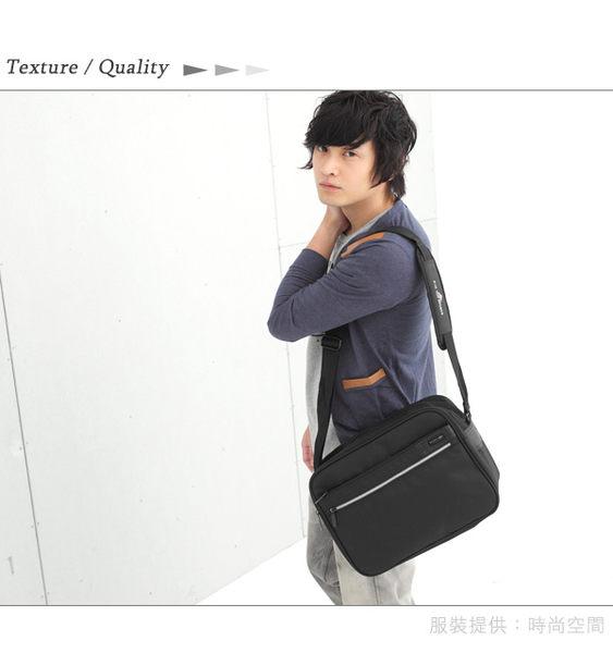 DF BAGSCHOOL - 台灣製造極簡流線風尼龍書包型側背包