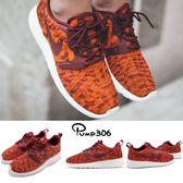 【五折特賣】Nike 休閒慢跑鞋 Wmns Rosherun KJCRD 紅 橘 迷彩 白底 運動鞋 女鞋 【PUMP306】 705217-800