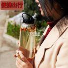 玻璃吸管杯 大容量成人帶吸管水杯1000...