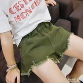 女童牛仔短褲 新款夏裝韓版時尚中大女童洋氣寶寶薄款外穿褲子  新年下殺