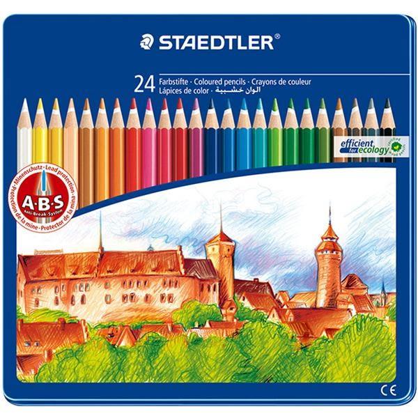 145油性色鉛筆24色-城堡篇【施德樓STAEDTLER】