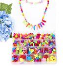 兒童diy手工益智小女孩穿珠子手鏈玩具  SQ3853『樂愛居家館』