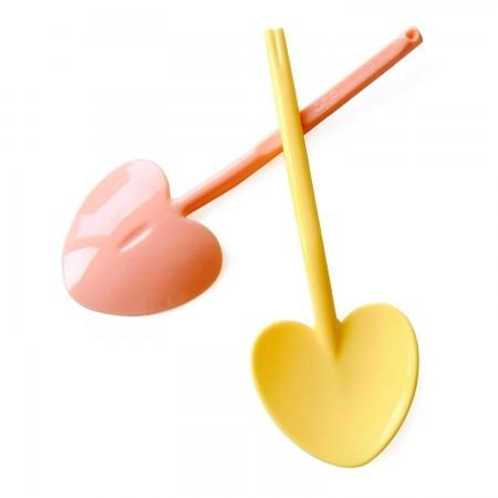 30入 愛心湯匙 9CM冰淇淋湯匙【W005】免洗餐具