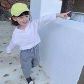 女童T恤秋裝新款韓版洋氣兒童秋季寶寶長袖體恤小女孩純棉上衣潮  【端午節特惠】