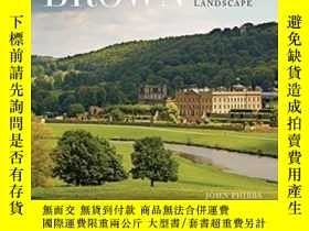 二手書博民逛書店Capability罕見Brown: Designing The English Landscape-布朗能力:英