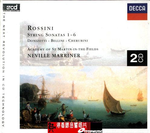 【停看聽音響唱片】【XRCD】Rossini - String Sonatas 1-6