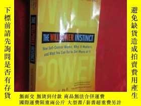 二手書博民逛書店The罕見Willpower Instinct: How Self-Control Works, Why It M