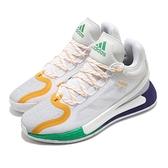 adidas 籃球鞋 D Rose 11 白 黃 男鞋 反光 運動鞋 飆風玫瑰 【ACS】 FX7401