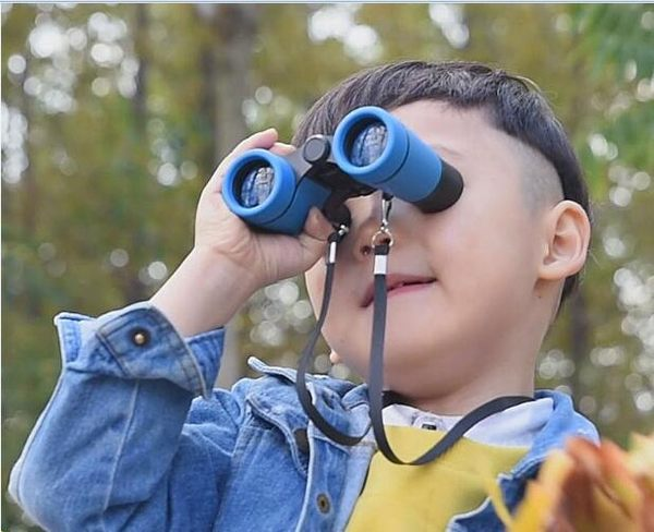 望遠鏡兒童高倍高清正品寶寶非玩具夜視天文望眼鏡男孩女孩小學生igo 歐韓時代
