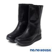 太空靴 獨領風潮真皮鉚釘太空靴(黑) * nonohouse【18-3592bk】【現貨】