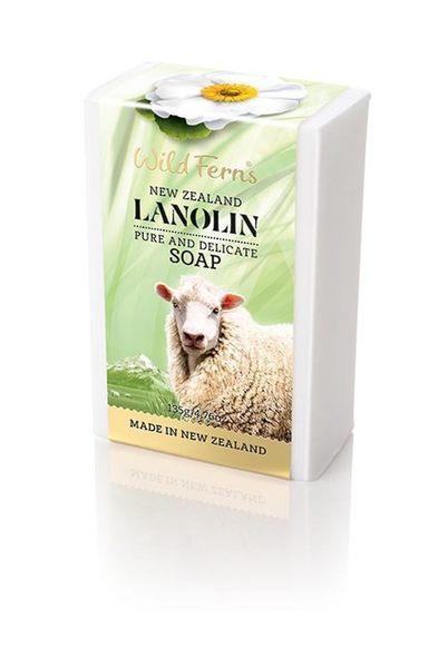 Wild Ferns 綿羊油天然泡沫潔膚皂135g Lanolin 肥皂 香皂