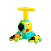 兒童益智玩具-太空艙造型空氣動力車(藍)1組入【小三美日】