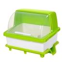 碗筷收納盒帶蓋特大號瀝水架碗碟置物架裝碗盒餐盤收納厚塑料碗櫃JY【限時八折】
