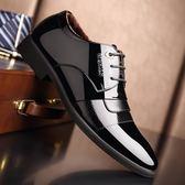 男皮鞋 正裝皮鞋 秋冬新款皮鞋男士加絨保暖棉鞋內增高休閒鞋男英倫商務男鞋子《印象精品》q1501