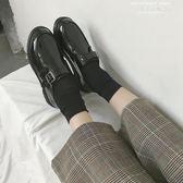 紳士鞋2019新款冬黑色ins小皮鞋女chic復古英倫風學生韓版百搭平底單鞋 萊俐亞美麗
