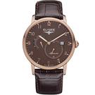 ELYSEE  Priamos  獨立秒針機械腕錶 77017B